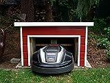 Bauplan - Garage für Mähroboter mit Schwingtor- absolute Neuheit