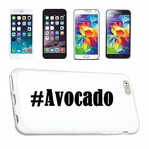 Handyhülle iPhone 6S Hashtag ... #Avocado ... im Social Network Design Hardcase Schutzhülle Handycover Smart Cover für Apple iPhone … in Weiß … Schlank und schön, das ist unser HardCase. Das Case wird mit einem Klick auf deinem Smartphone befestigt
