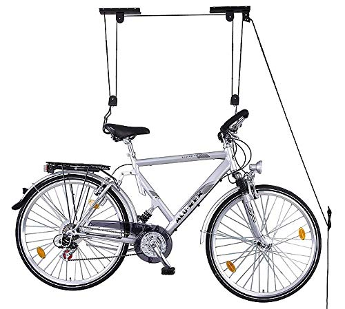 VDP Fahrradlift Fahrradaufhängung Fahrradaufzug Halterung Seilzug bis 20kg