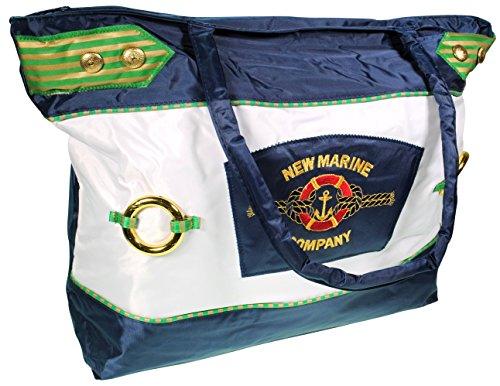 Immerschön Tasche Shopper in vielen Farben und Motiven Handtasche City-Bag Schultertasche Strandtasche Marine 3