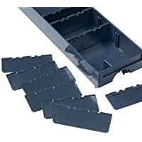 Divider for Drawer-SYS Small 10 pcs Anthracite by Tanos