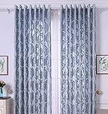 Yushi Modernen minimalistischen Vorhang vollständig gefütterten vorgefertigten Vorhänge Eyelet Ring Top, 2 Panels, (230cm x 230cm), 230 * 230cm