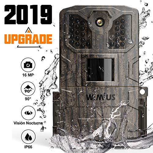 WiMiUS Cámara de Caza 16MP 1080P