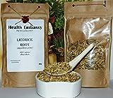Racine de Réglisse 50g (Glycyrrhiza glabra) / Licorice Root 50g - Health Embassy - 100% Natural