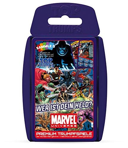 - Top Trumps: Marvel Universe (Grüne Superhelden)
