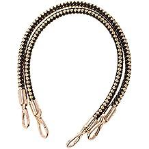 61c1a4ec77 MagiDeal - Coppia di manici di ricambio per borse a tracolla, manici  intrecciati in corda
