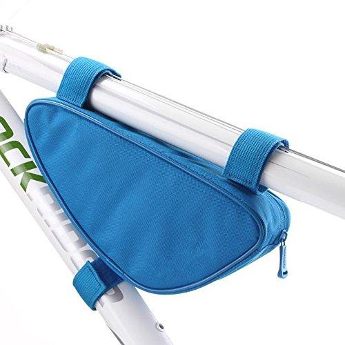 LWJgsa Fahrrad Im Rohr Dreieck Tasche Mountain Bike Kit Blue