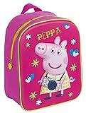 Copywritte Peppa Pig Mochila 3D, Color Rosa