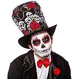 Sombrero de Día de los muertos para adultos de Halloween