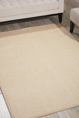 Calvin Klein 99446325068-Elfenbeinfarben maschinell gewebt Teppich, elfenbeinfarben, 3ft 6x 5FT 6 - 3' Sisal-teppich