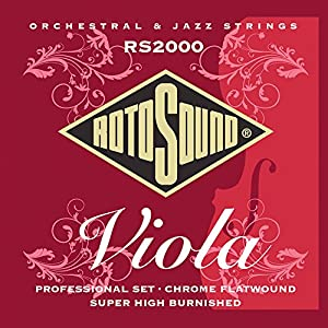 Rotosound Flatwound Viola Professional Set