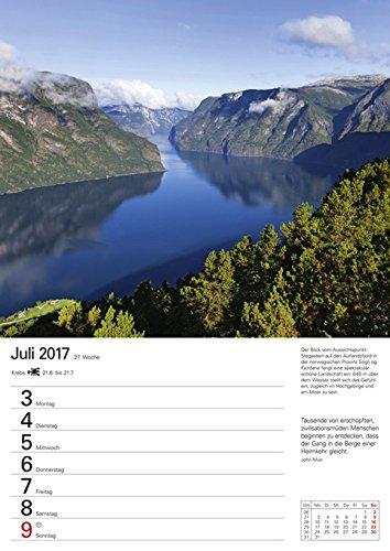 Skandinavien - Kalender 2017: Wochenplaner, 53 Blatt mit Zitaten und Wochenchronik: Alle Infos bei Amazon