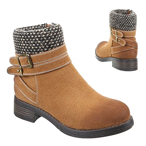 Pa-chaussures enfant, bottines Marron - Camel
