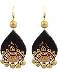Avarna Terracotta Large Earring ERD0006 Multi-Colour