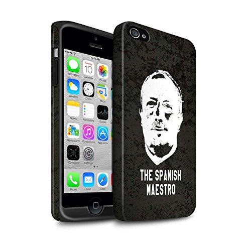 Offiziell Newcastle United FC Hülle / Matte Harten Stoßfest Case für Apple iPhone 4/4S / Pack 8pcs Muster / NUFC Rafa Benítez Kollektion Spanisch Maestro