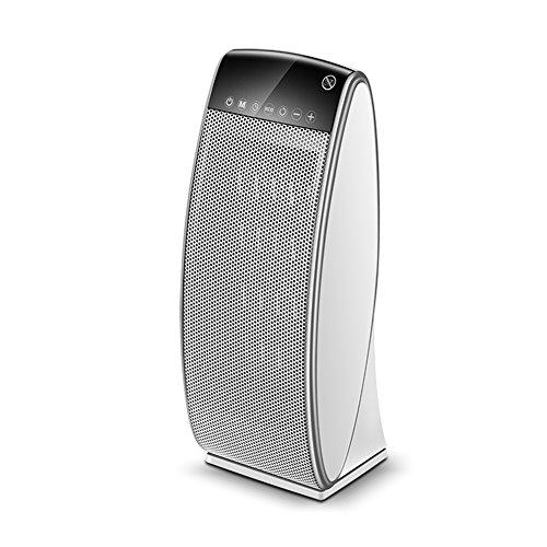 Radiateurs électriques YIXINY JSQE-02 Vertical Chauffage Céramique PTC Contrôle Tactile Secouant La Tête 2000w Blanc