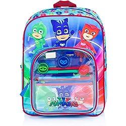 Sac à dos LES PYJAMASQUES sac complet avec fournitures scolaire sac PJ MASKS 2018
