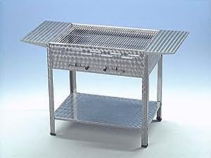 holzkohlegrill grill kohlegrill edelstahl ablagen verein catering gastronomie garten. Black Bedroom Furniture Sets. Home Design Ideas