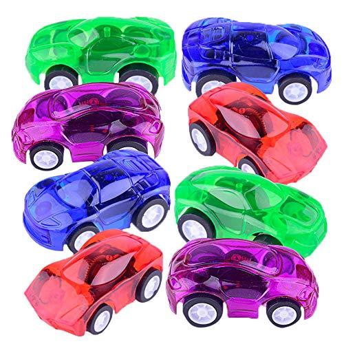 DingLong Ziehen Sie Autos zurück,4pcs Mini Autos Mini Fahrzeug Kinder Kinder Spielzeug Dekor Diecast Ziehen Auto Modell Als Ornamente einsetzbar