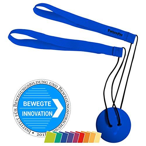 TwistFit® original u. patentiert - Fitness-Studio im Taschenformat, blau (Fitness-studio Twist)