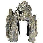 Pet Ting Skull Cave Aquatic Ornament - Aquarium Decoration - Vivarium Decoration 7