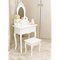 Girls Dressing Table With Stool and Mirror | Children