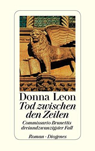 Buchseite und Rezensionen zu 'Tod zwischen den Zeilen: Commissario Brunettis dreiundzwanzigster Fall' von Donna Leon