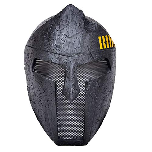 Spartan Halloween Kostüm Männer - WLXW Paintball Shooting Tactical Mask Außen
