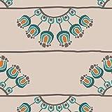 Art Gallery Fabrics - Baumwollstoff Meterware zum Nähen I Bedruckte Pima Baumwolle Dekostoff I Nähstoff für Blusen, Hemden, Kleider, Kinder Bekleidung und vieles mehr I 1,12 m x 1 m