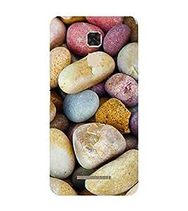 Fiobs Designer Phone Back Case Cover Asus Zenfone 3 Max ZC520TL (5.2 Inches) ( Stone Pattern Design )