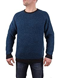 Timberland Pull Hommes ORIGNAL RIVER RAS DU COU Mérinos Taille M - Essence, Homme, m
