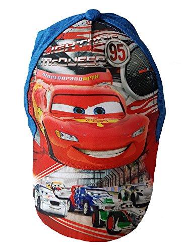 Preisvergleich Produktbild Cars McQueen Cap Kappe Schirmmütze Baeball Cap Jungen - 54 CM