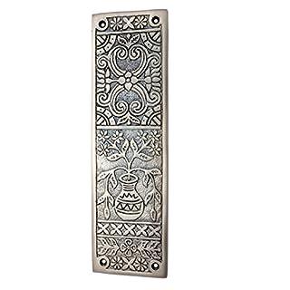 Adonai Hardware Melchizedek Decorative Brass Push Plate