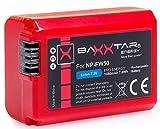 "Bundlestar BAXXTAR PRO-ENERGY Qualitätsakku für Sony NP-FW50 (echte 1080mAh) mit Infochip - Intelligentes Akkusystem - 100% kompatibel ""neueste Generation"" für Sony ILCE XQ1 Alpha 5000 5100 6000 6300 6500 Alpha 7 7II 7S usw. CyberShot DSC RX10 -- Sony NEX-6 NEX-F3 NEX-7 NEX-7B NEX-7C NEX-7K NEX-3 NEX-3N NEX-C3 Nex-5 NEX-5N NEX-5K NEX-5R -- SLT A55 A33 A35 A37 A3000"