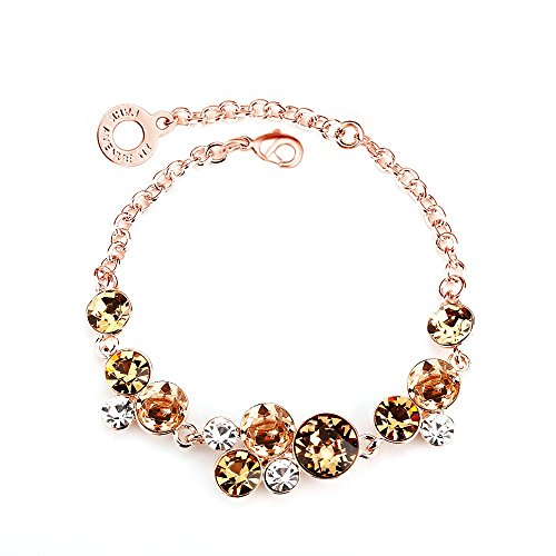 park-avenue-bracelet-nugget-dore-rose-made-with-crystals-from-swarovski