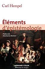 Eléments d'épistémologie (Hors Collection) de Carl Hempel
