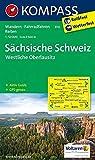 KOMPASS Wanderkarte Sächsische Schweiz - Westliche Oberlausitz: Wanderkarte mit Aktiv Guide, Rad- und Reitwegen. GPS-genau. 1:50000: Wandelkaart 1:50 000 (KOMPASS-Wanderkarten, Band 810) -