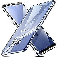 ESR Transparent Silikon Hülle für Galaxy S9 [Ultradünnen] [Kabelloses Laden Unterstützen] Bumper Handyhülle Durchsichtig TPU Schutzhülle für Samsung Galaxy S9 - Kristall
