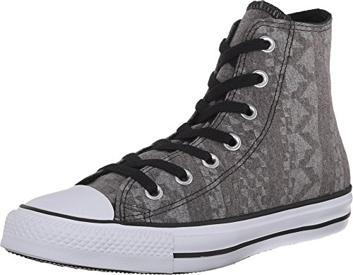 Girl Sneaker Schuhe Gr. 36.5 Chuck Taylor All Star High Top grau grey *** CT HI BLACK/WHITE/WHITE *** 549650F Canvas ()