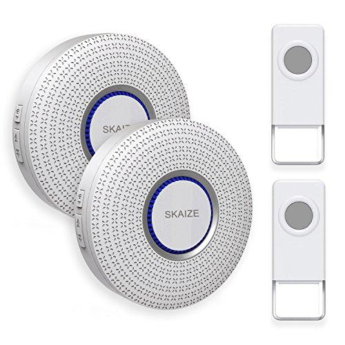 Funktürklingel optisch akustisch 36 Töne Weiß Silvercrest
