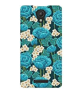 PrintVisa Designer Back Case Cover for Xiaomi Redmi 3S Prime (data card routers Floral Fabric Pattern)