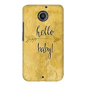 DailyObjects Hello Baby Case For Motorola Moto X2
