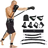 AUTUWT Springen Jump Trainer Set,Premium Fitnessbänder Jump-Widerstand-Bänder-System für Boxen, MMA, Home Gym, Muay Thai, Sanda, Bouncing Strength Training Equipment, Enhance Explosive Power