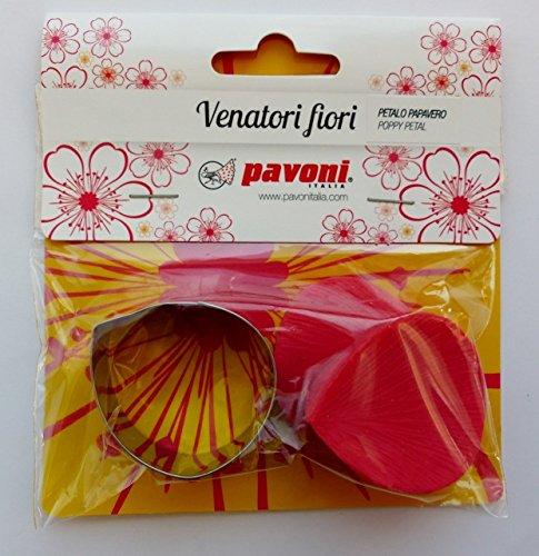 Pavoni Mould & Cutter Set - Poppy Peta
