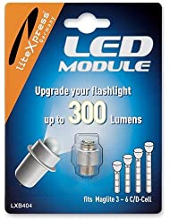 Litexpress Led Upgrade Modul 300 Lumen LXB404für Mag-Lite