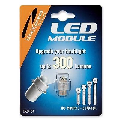 Litexpress Led Upgrade Modul 300 Lumen LXB404für Mag-Lite