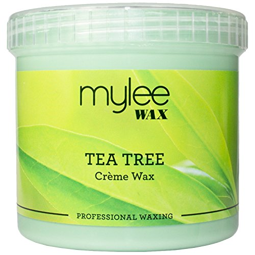 Mylee Complete Waxing Kit Includes Salon Quality Wax Heater, Tea Tree Wax, Waxing Strips, Spatulas and Mylee Pre & After Care Lotion (Kit + Tea Tree Wax)