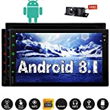 EINCAR 7 Zoll Android 8.1 Oreo Car Stereo 2 Din in Dash GPS Navigations-Radio-Empf?nger Bluetooth GPS Navigation Head Unit Support Telefon Mirroring CAM-IN OBD2 3G / 4G WiFi USB-Autoradio None-DVD-P