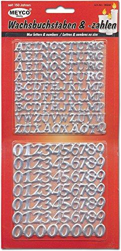 Wachsbuchstaben&Zahlen