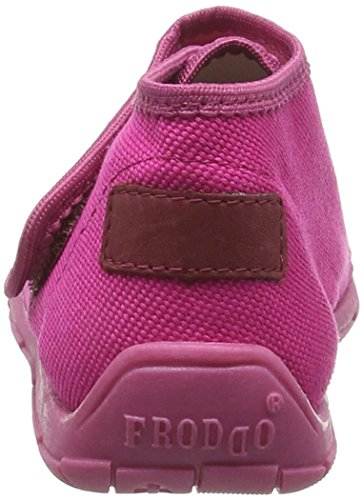 Froddo  G1700129, Chaussons fille Pink (Fuchsia)